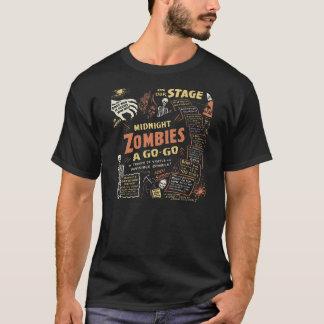 "1950s Beatnik ""Zombies A Go-Go"" T-Shirt"