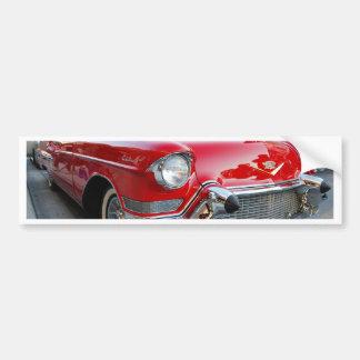 1950s cadillac bumper sticker