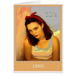 1950's card