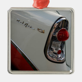 1950s Chevy Bel Air Metal Ornament