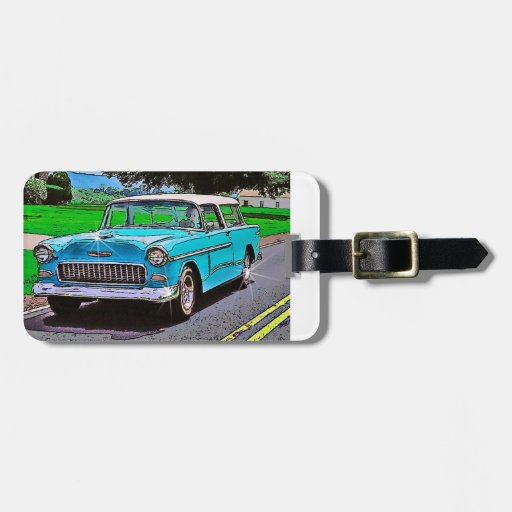 1950's Chevy Nomad Bag Tag