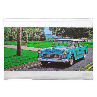 1950's Chevy Nomad Placemats
