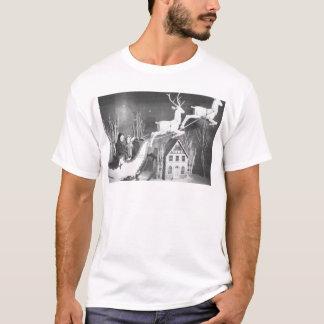 1950's Children on Santa's Sleigh T-Shirt