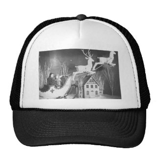 1950's Children on Santa's Sleigh Trucker Hat