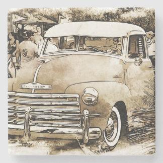 1950's Classic Chevy Chevrolet Truck Stone Coaster