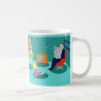 1950's Classic Television Coffee Mug