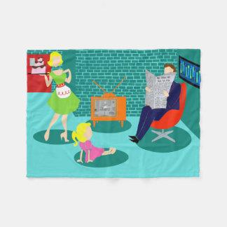 1950's Classic Television Fleece Blanket