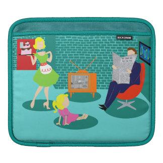 1950's Classic Television iPad Sleeve