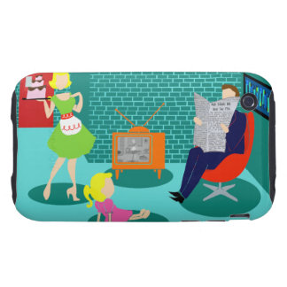 1950's Classic Television iPhone 3G/3GS Case iPhone 3 Tough Cases