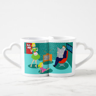 1950's Classic Television Lovers' Mugs
