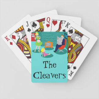 1950's Classic Television Playing Cards