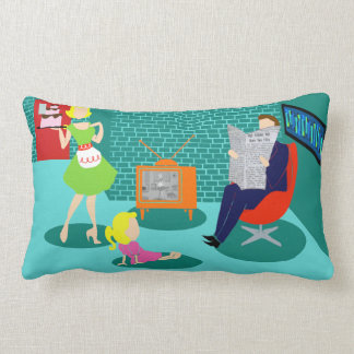 1950's Classic Television Throw Pillow