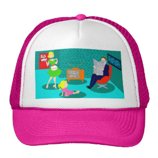 1950's Classic Television Trucker Hat