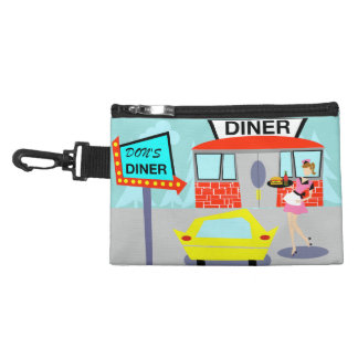1950's Diner Clip On Accessory Bag