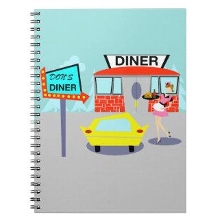 1950's Diner Notebook