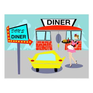 1950's Diner Postcard