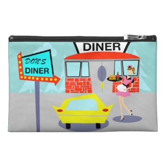 1950's Diner Travel Accessory Bag