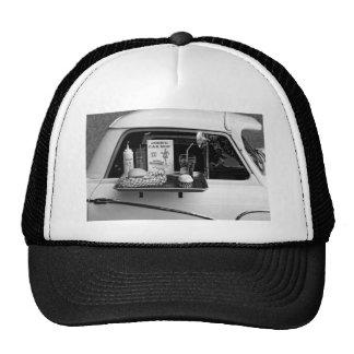 1950's Drive-in B&W Trucker Hat