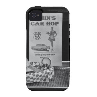 1950's Drive-in B&W Vibe iPhone 4 Cases