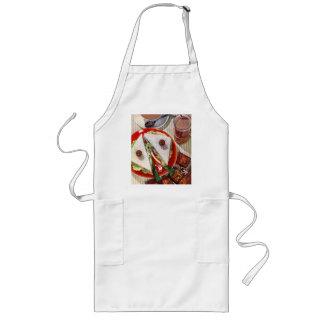 1950's eyeball sandwich long apron