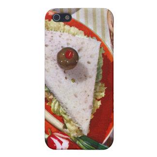 1950's eyeball sandwich iPhone 5 cover