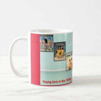 1950s Fun - Pam & Penny - the Twins! Coffee Mug