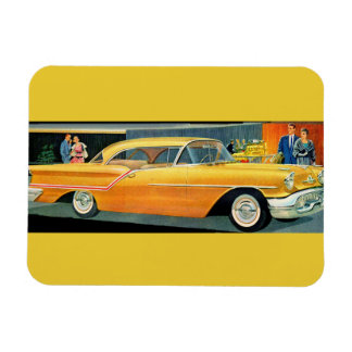 1950s golden Rocket 88 Oldsmobile Magnet