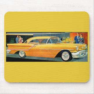 1950s golden Rocket 88 Oldsmobile Mouse Pad