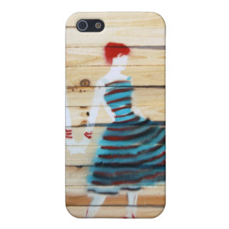 1950's Graffiti Style IPhone Case