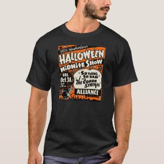 1950s Halloween Spook Show Poster T-Shirt