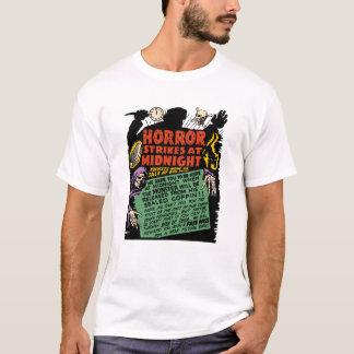 "1950s ""Horror Strikes at Midnight"" T-Shirt"