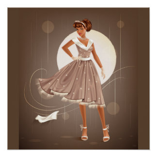 1950's Housewife Poster