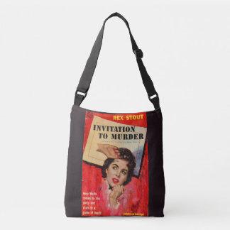 1950s Invitation to Murder Crossbody Bag