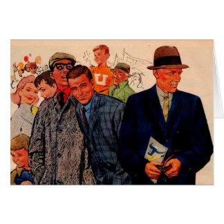 1950s men wearing Hickey-Freeman Card