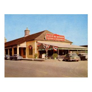 1950's New Orleans view of Café du Monde Post Cards