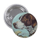1950s Paint-by-Number English Springer Spaniel Pinback Button