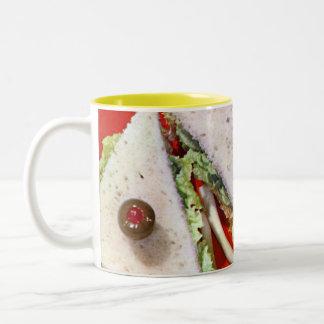 1950's perfect sandwich Two-Tone coffee mug