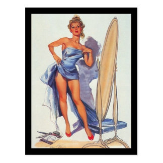 1950's Pin-up Girl Postcard Postcards