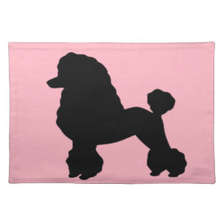 1950's Pink Poodle Inspired Placemat