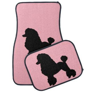 1950s Pink Poodle Skirt Car Mats
