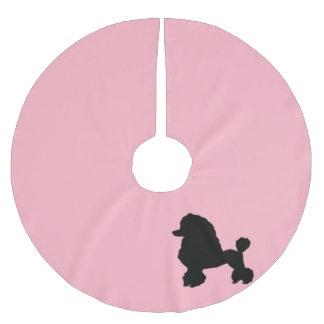 1950s Pink Poodle Skirt Christmas Tree Skirt