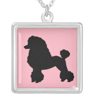 1950's Pink Poodle Skirt Inspired Necklace