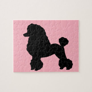 1950's Pink Poodle Skirt Inspired Puzzle