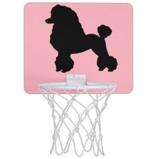 1950's Pink Poodle Skirt Mini Basketball Hoop