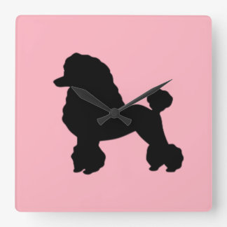 1950's Pink Poodle Skirt Wall Clock