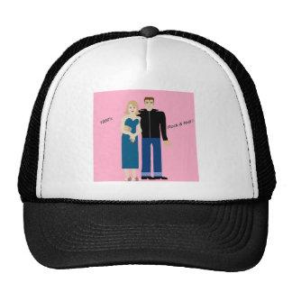 1950's Rock & Roll couple Trucker Hat