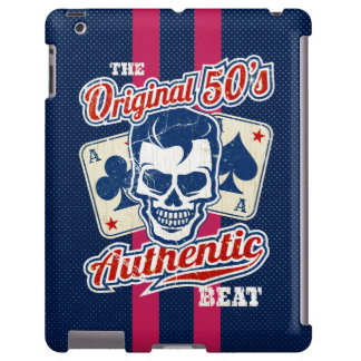 1950's Rockabilly Skull and Aces