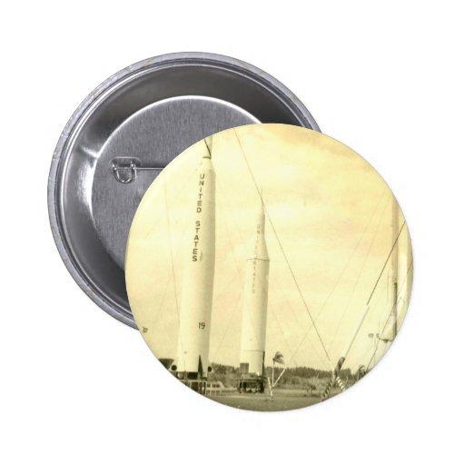 1950's Rocket Button