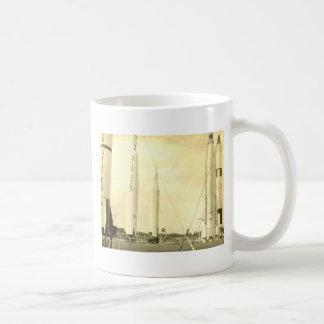1950's Rocket Coffee Mug