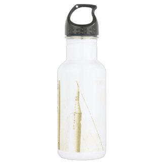 1950's Rocket Stainless Steel Water Bottle
